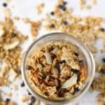 Stovetop Toasted Coconut Chocolate Chip Granola.