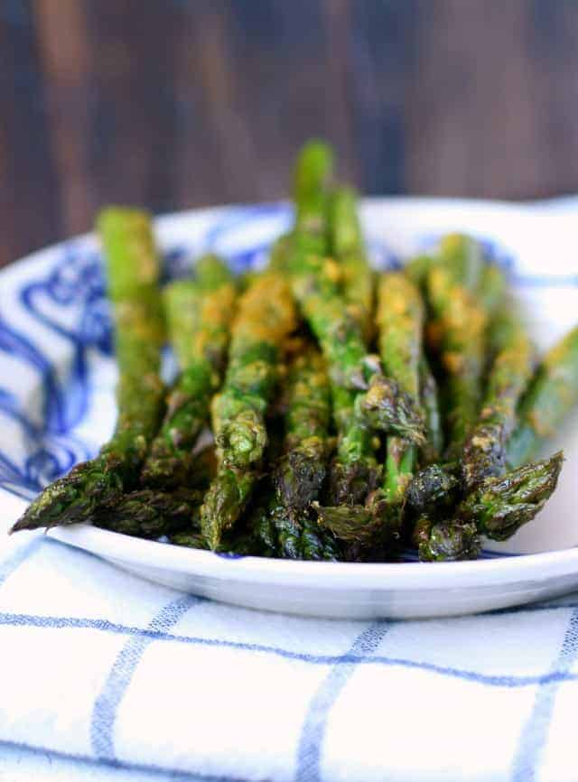 Savory Roasted Asparagus Vegan Dairy Free The Pretty Bee