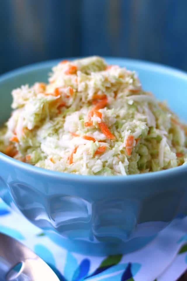 dairy free vegan coleslaw recipe