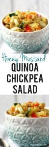 easy quinoa chickpea salad recipe