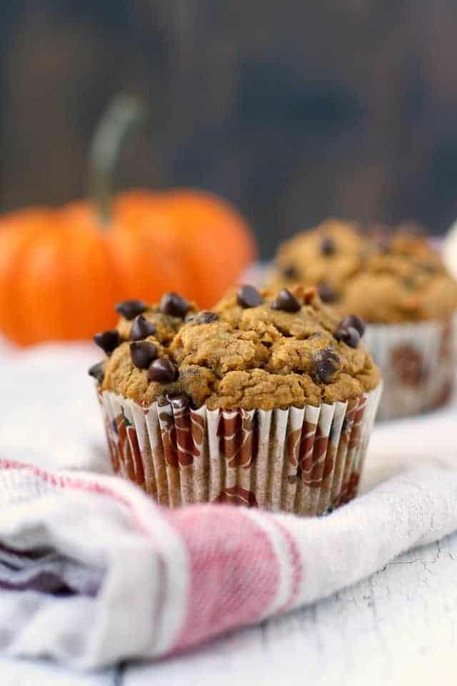 dairy free pumpkin muffins