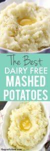 dairy free mashed potato recipe