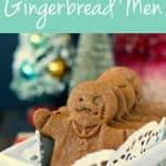 vegan gluten free gingerbread man cookies