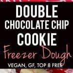 chocolate chip cookie freezer dough recipe