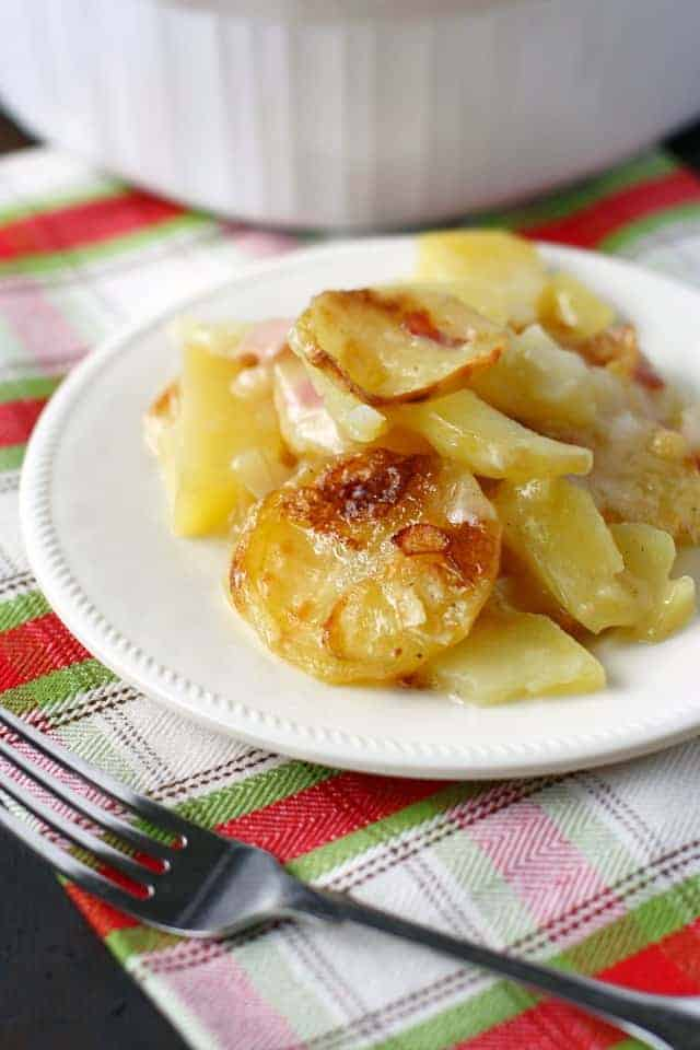 dairy free scalloped potatoes