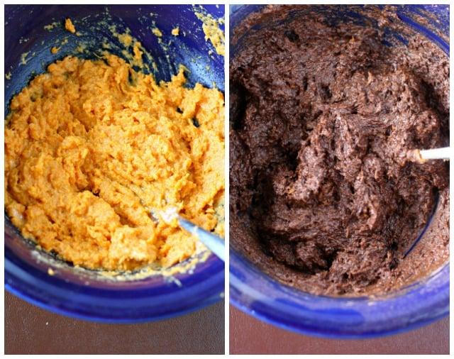how to make sweet potato brownies
