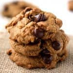 Healthy Whole Grain Chocolate Chip Cookies.