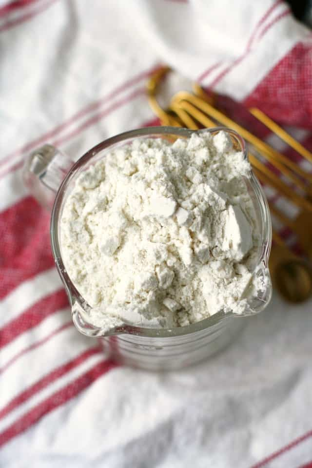 homemade gluten free flour mix