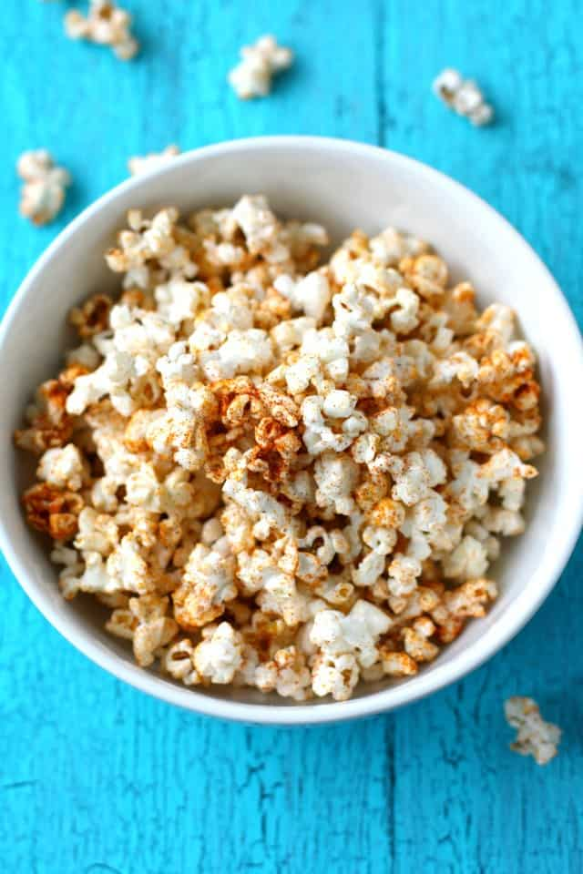 spicy sweet kettle corn recipe