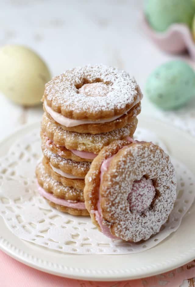 vegan sugar cookies with icing