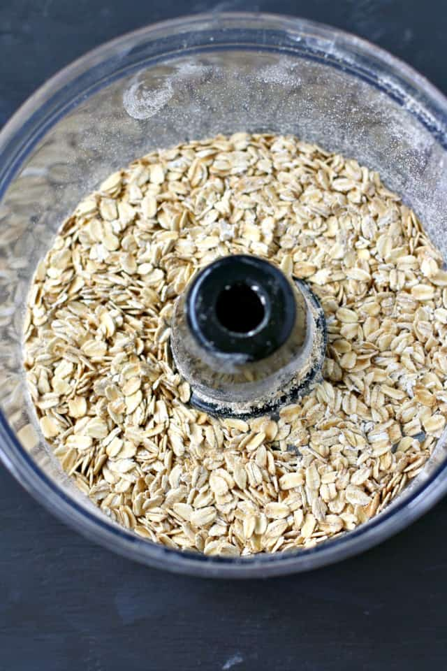 oats in a food processor