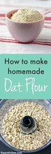recipe for oat flour