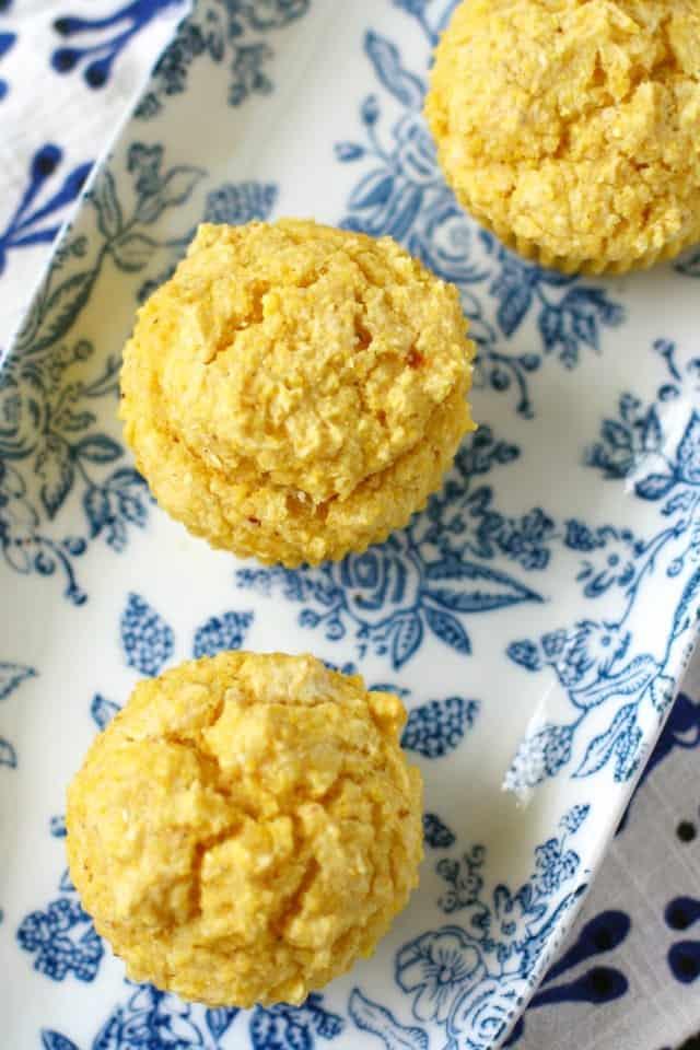 gluten free vegan corn muffins