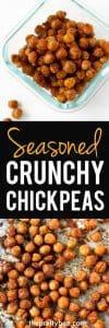 seasoned crunchy chickpea recipe