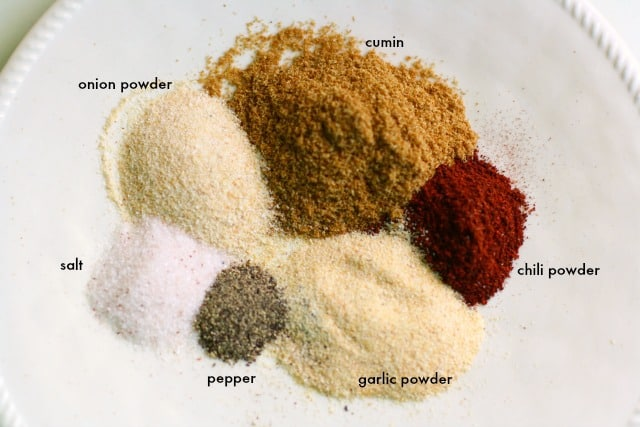 spices for vegan chili
