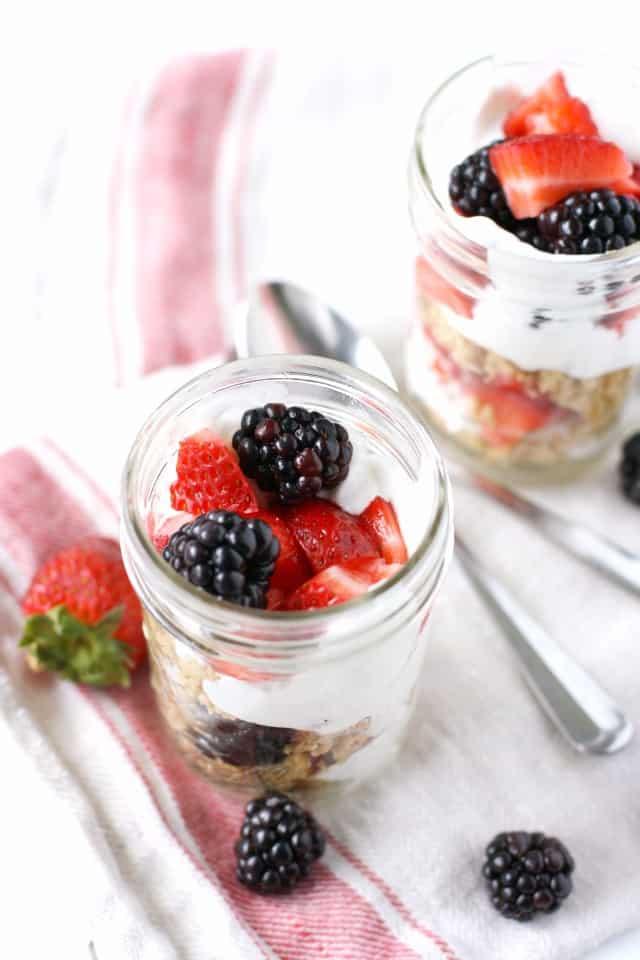 berry parfait recipe