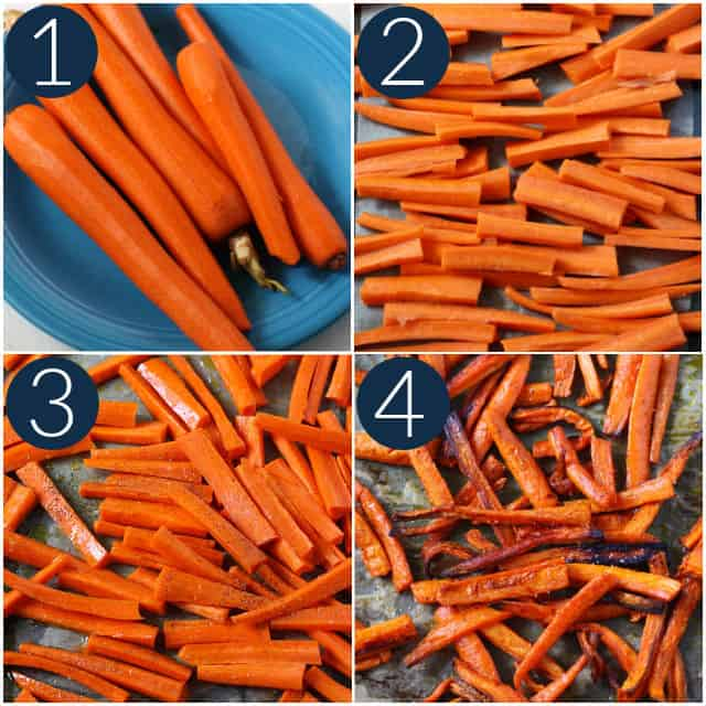how to make carrot fries