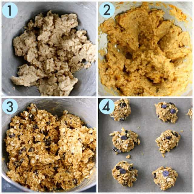 how to make pumpkin oatmeal cookies