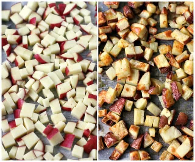 how to roast red potatoes