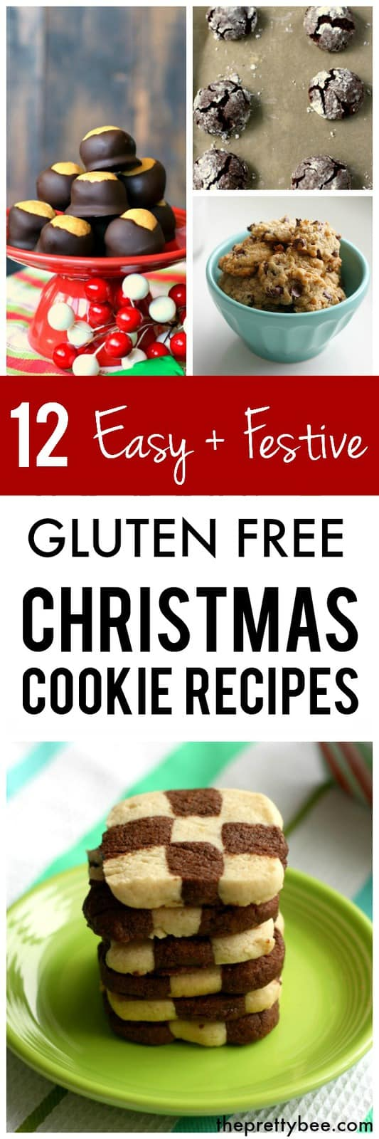 12 Days Of Gluten Free Christmas Cookies The Pretty Bee