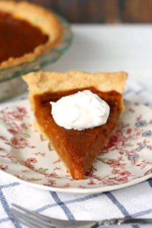 easy vegan gluten free pumpkin pie
