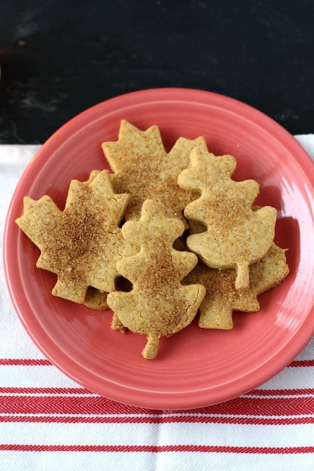 gluten free pumpkin sugar cookies