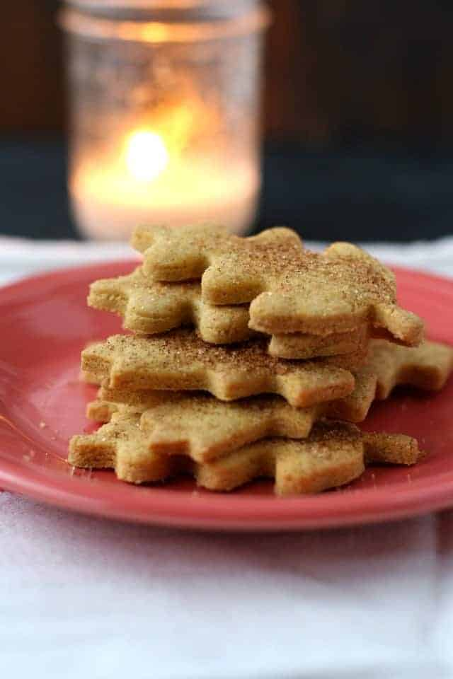 gluten free vegan pumpkin sugar cookies