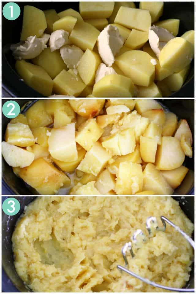 how to make mashed potatoes in the slow cooker