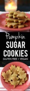 pumpkin sugar cookie recipe