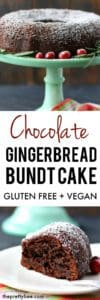easy gingerbread bundt cake recipe