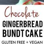 easy gingerbread bundt cake recipe