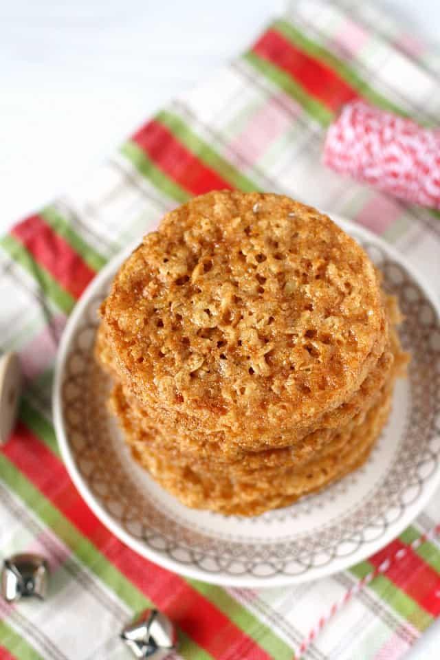 gluten free lace cookie recipe