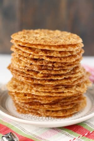 gluten free lace cookies