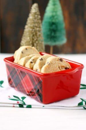 gluten free vegan shortbread cookies