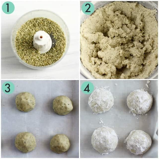 how to make hidden kiss cookies