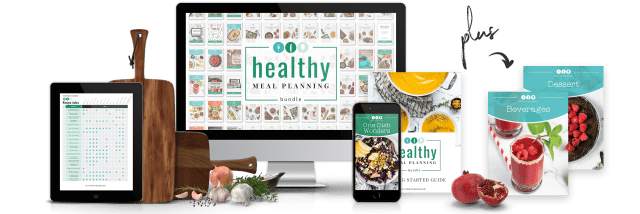 healthy meal planning information on different devices