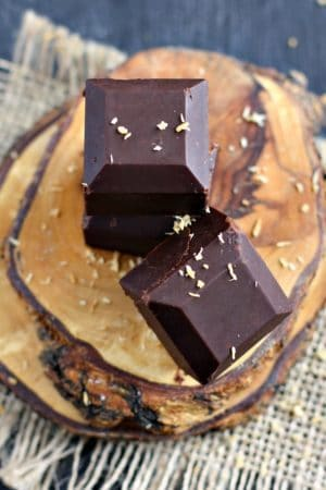 easy coconut oil chocolate