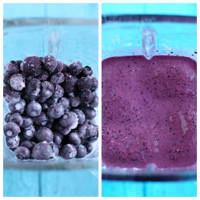 how to make a blueberry oat smoothie