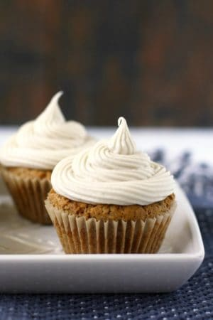 gluten free zucchini cupcakes