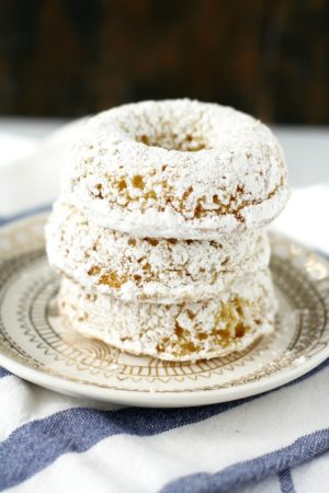 vegan powdered donut recipe