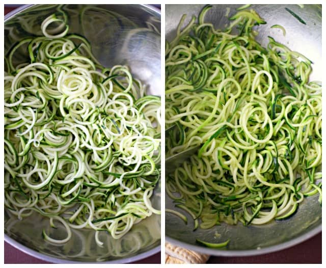 how to cook zoodles
