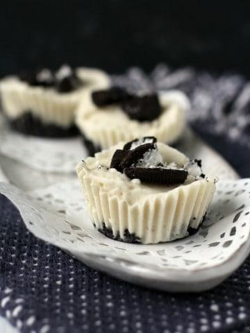 dairy free mini oreo pies