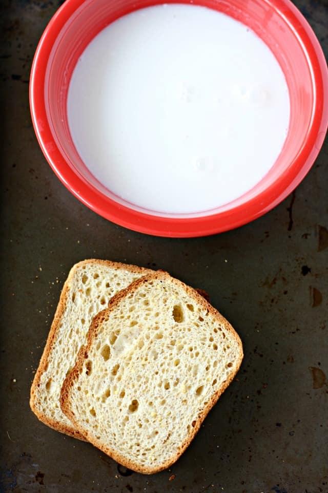gluten free bread and non dairy milk