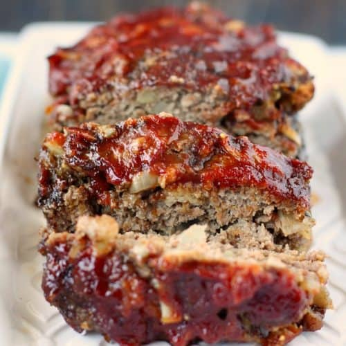 Classic Gluten Free Meatloaf The Pretty Bee