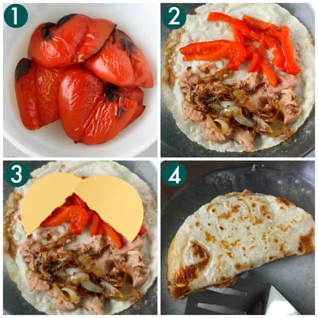how to make vegan quesadillas