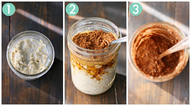how to make overnight oats in a mason jar