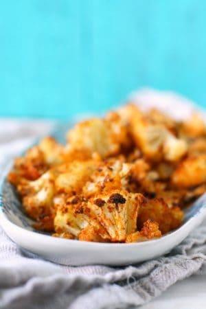 easy roasted cauliflower