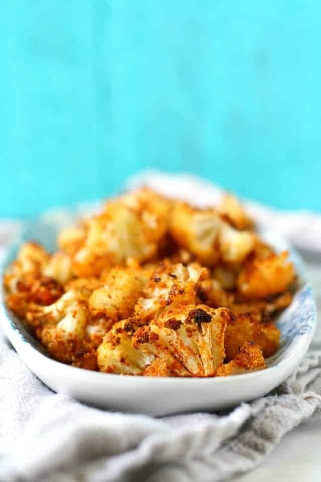 the best seasoned roasted cauliflower