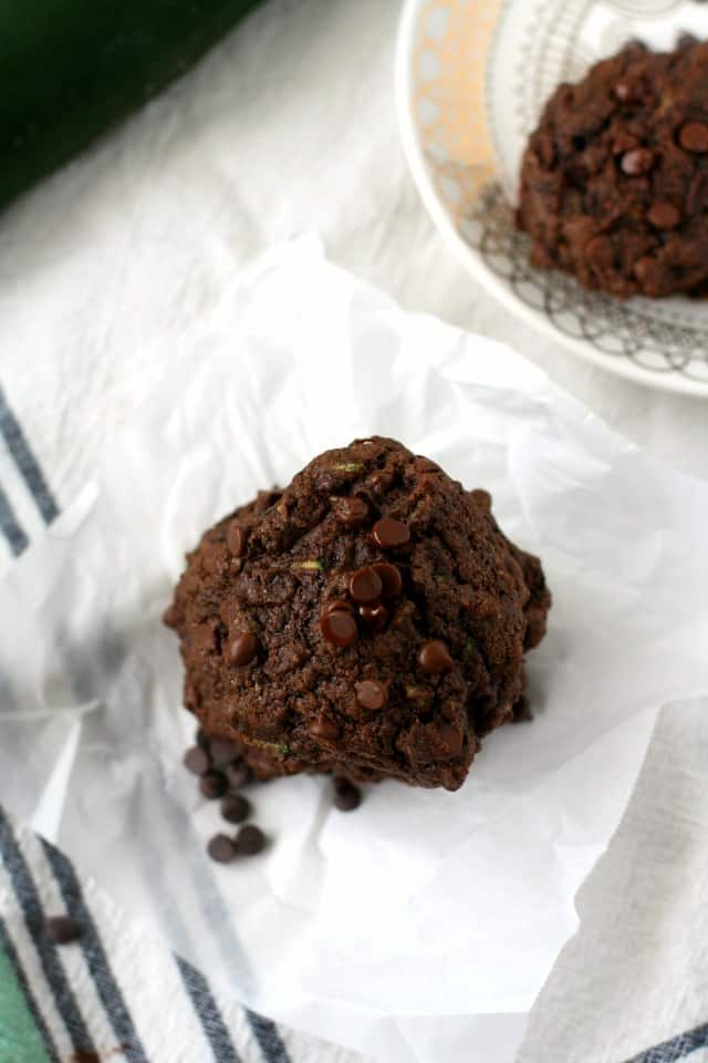 chocolate zucchini cookie recipe