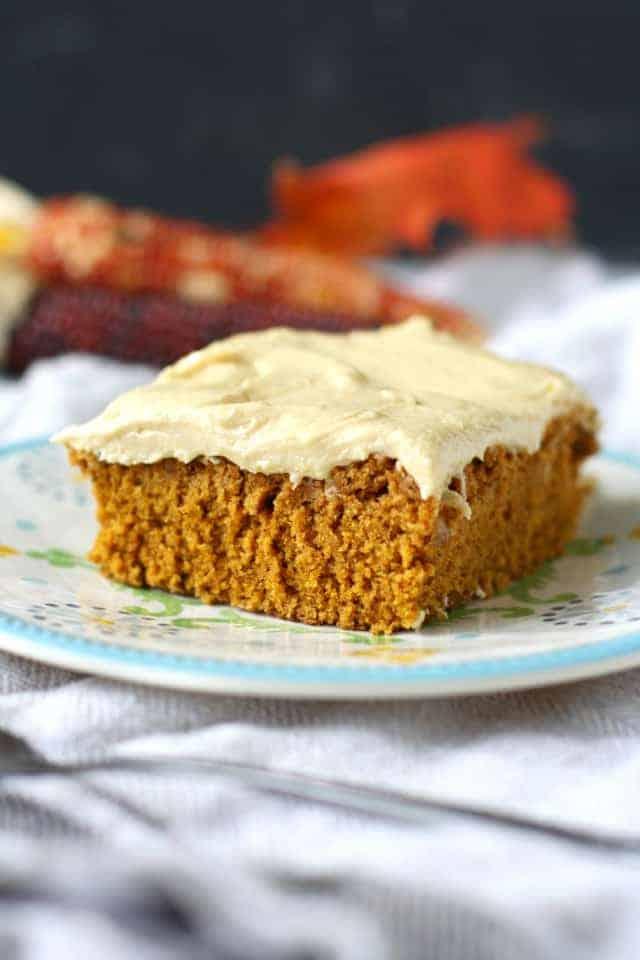 gluten free pumpkin spice cake